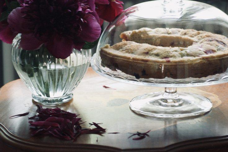 rhabarberkuchen-ruehrkuchen-himbeeren-amarettini