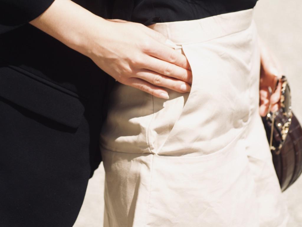 leinen-shorts-details-tasche