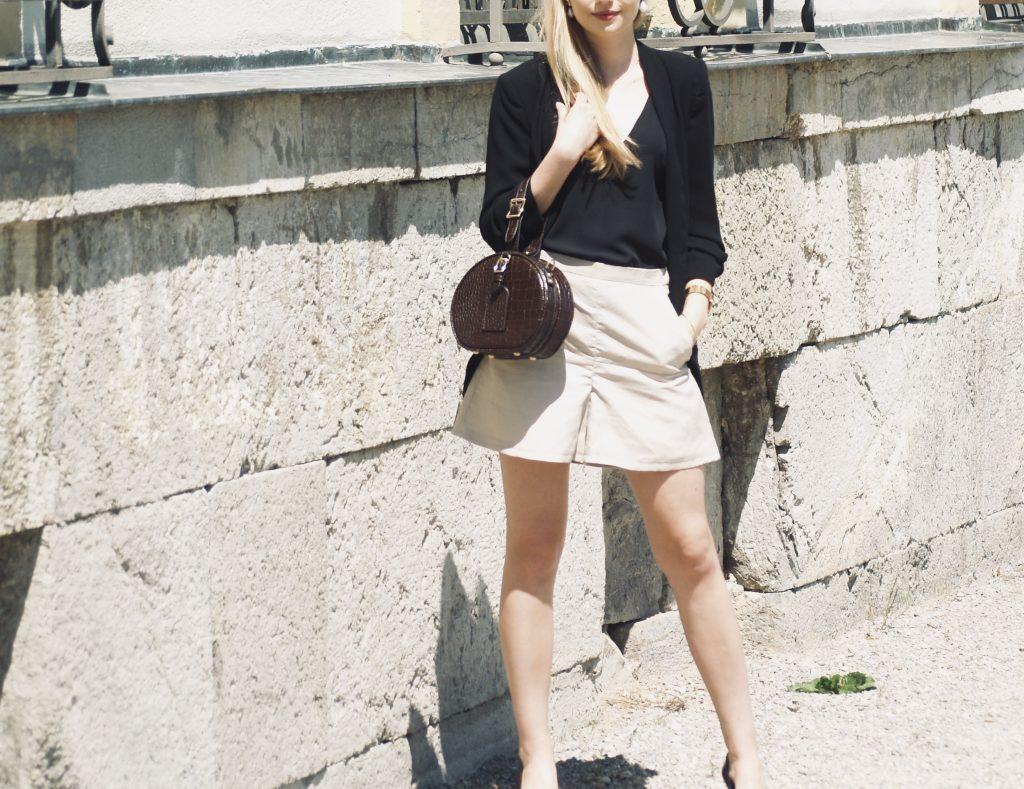 leinen-shorts-mit-blazer